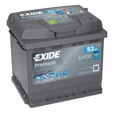 Batterie EXIDE PREMIUM 53Ah/540A Perez-batterie Béziers