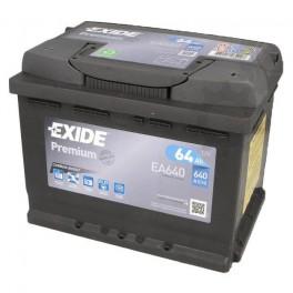 Batterie EXIDE PREMIUM 64Ah/640A Perez-batterie Béziers