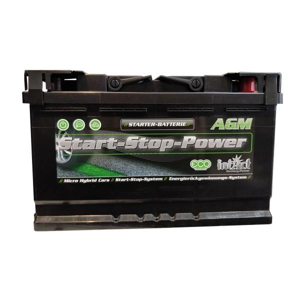 batterie start stop power 70ah 760a. Black Bedroom Furniture Sets. Home Design Ideas