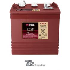 Batterie Trojan T-105 Perez-batterie Béziers